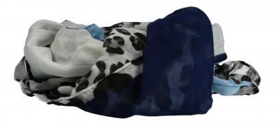 Cintura - MGM - Schal/Tuch Leo blau FL 250 bl