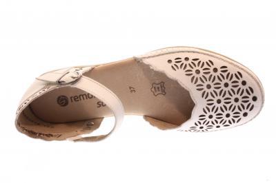 Remonte Damen Sandale weiß D1916-80