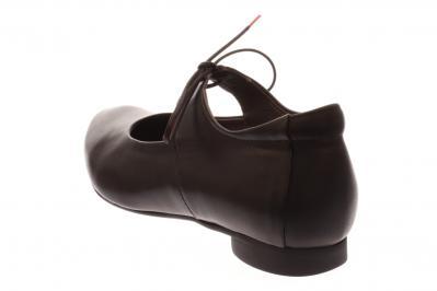 Think Damen Schnürer/Ballerina GUAD SCHWARZ 8-88284-00