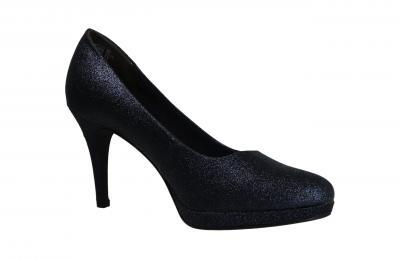 Tamaris Damen Pumps/High Heels NAVY GLAM (Blau) 1-1-22403-25/834