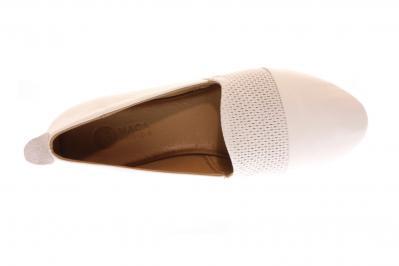 Maca Kitzbühel Damen Ballerina/Slipper white (Weiß) 2434WHITE