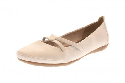 Tamaris Damen Ballerina/Slipper QUARTZ (Grau) 1-1-22110-22/201