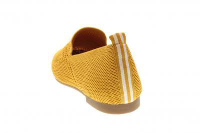 La Strada Damen Ballerina ocre knitted (Gelb) 1804422-4580