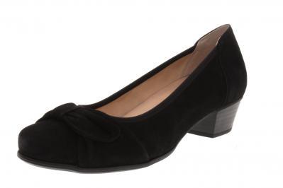 Caprice Damen Pumps BLACK SUEDE (Schwarz) 9-9-22302-24/004