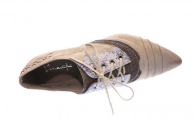 Maciejka Damen Schnürer/Trotteur grey (Grau) 03382-03-005