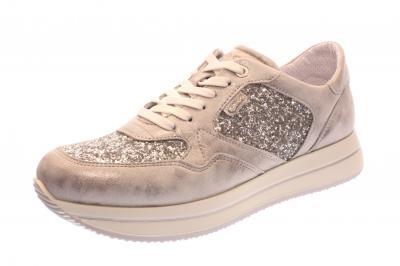 IGI & Co Damen Halbschuh/Schnürer/Sneaker acciaio/argento (Silber) 7774500