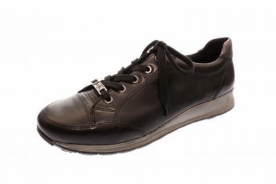 ara Damen Halbschuh/Schnürer/Sneaker Osaka SCHWARZ,IRON (Schwarz) 12-44577-05