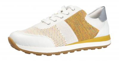 Remonte Damen Halbschuh/Sneaker weiss/weiss-multi/si (Weiß) D1812-81