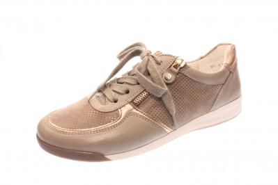 newest a28ef a0987 ara Damen Halbschuh/Schnürer/Sneaker FOSSIL,ROSEGOLD/TAUP (Beige)  12-44443-12