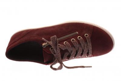 Legero Damen Halbschuh/Schnürer/Sneaker Tanaro 4.0 RUBIN (Rot) 1-00818-66