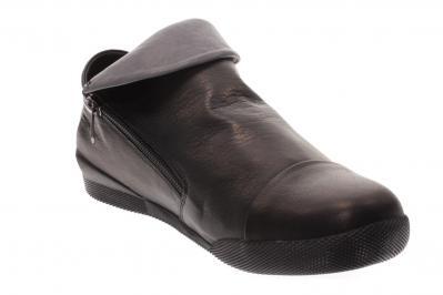Andrea Conti Damen Halbschuh/Slipper Boot schwarz/grau (Schwarz) 0340518038