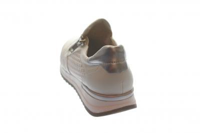 Remonte Damen Halbschuh/Sneaker/Slipper weiss-silber/weiss/a (Weiß) R7012-80