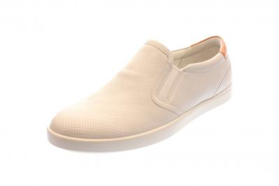 Ecco Damen Slipper WHITE/MUTED CLAY (Weiß) 241073/50915