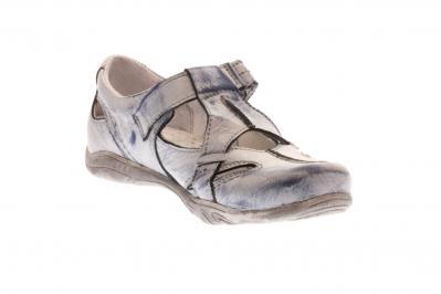 Kristofer Damen Halbschuh/Slipper jeans (Blau) P2032