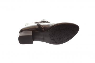 Maria Shoes Damen Stiefelette schwarz komb. (Schwarz) MG10