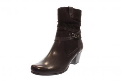 Jana Damen Stiefel/Stiefelette BLACK (Schwarz) 8-8-25327-21/001