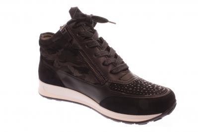 ara Damen Halbschuh/Schnürer/Sneaker Osaka BLAU 12-44504-07