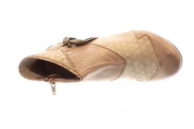 Rovers Damen Stiefelette grey (Beige) 51002