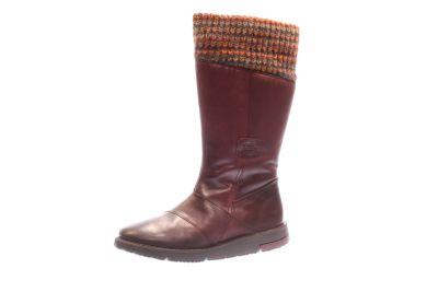 CAMEL ACTIVE DAMEN Stiefel Ontario dk.red (Rot) 21.020.05 • Schuhe Neu