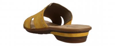 Rieker Damen Pantolette sonne (Gelb) 63492-68