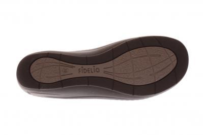 Hallux by Fidelio Damen Pantolette Fabia F1/2 Schwarz Elisa (Schwarz) 434029