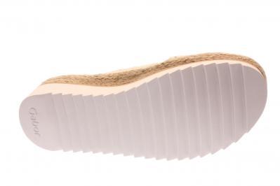 Gabor Damen Pantolette skin (Beige) 63.721.14