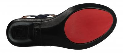 Think Damen Sandale/Sandalette NAVY (Blau) 0-686521-8700