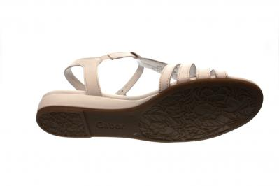 Gabor Damen Sandale/Sandalette weiss (Weiß) 82.801.50