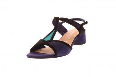 Tamaris Damen Sandale/Sandalette BLUE COMB (Blau) 1-1-28256-32/818