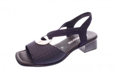 Remonte Damen Sandale/Sandalette navy/silber (Blau) R5953-14