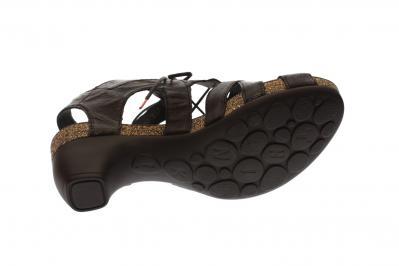 Think Damen Sandale/Sandalette Traudi schwarz 4-84576-00