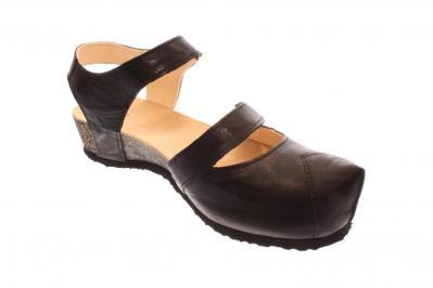Think Damen Sandale/Sandalette SCHWARZ 2-82376-00