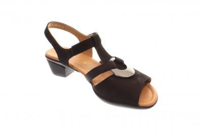 ara Damen Sandale Sandalette Lugano-S, H SCHWARZ 12-35715-01 235aa95610