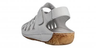 Gemini Damen Sandale dirty white (Weiß) 32002-02-100