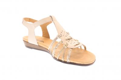 Pikolinos Damen Sandale/Sandalette nata/carrara (Weiß) 816-0509C3
