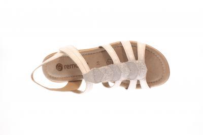 Remonte Damen Sandale Weite F 1/2 silver/platin (Silber) R3637-80