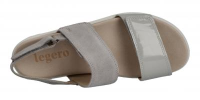 Legero Damen Sandale Savona ALUMINIO (GRAU) (Grau) 6-00708-25