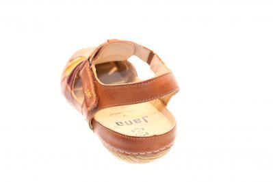 Jana Damen Sandale/Sandalette SAND COMB (Braun) 8-8-28111-30/330