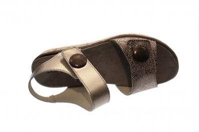Damen Sandale/Sandalette LG bronce (Braun) 1008215