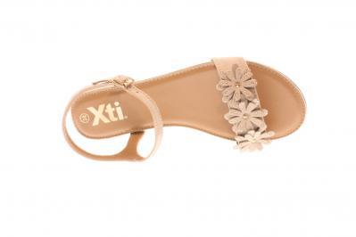 XTI Damen Sandale BEIGE 48815