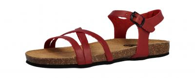 Longo Damen Sandale/Sandalette rot 1006496