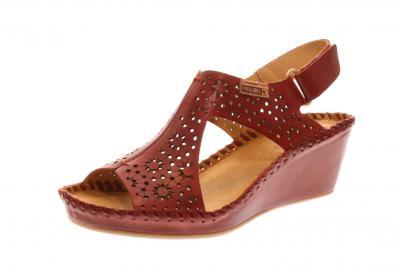 Pikolinos Damen Sandale/Sandalette sandia (Rot) 943-1690