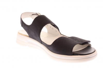 Waldläufer Damen Sandale/Sandalette Sina Denvermarine (Blau) 922005