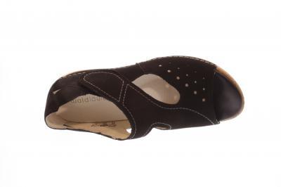 Waldläufer Damen Sandale Heliett schwarz 342012-191001
