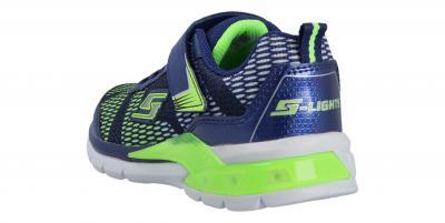 Skechers Kinder Sneaker Lava wave Blau 90553L NVLM