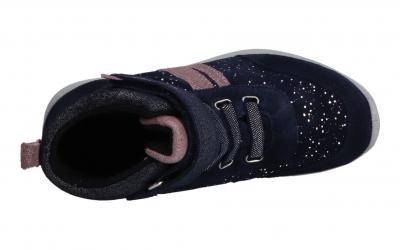 Superfit Kinder Stiefelette/Sneaker Merida BLAU/LILA (Blau) 1-009184-8000