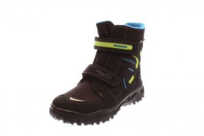 Superfit Kinder Stiefel Husky 1 schwarz/blau (Schwarz) 3-09080-01