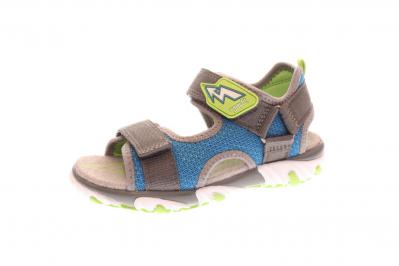 Superfit Kinder Sandale Mike 2 GRAU/BLAU (Grau) 4-09172-26 26