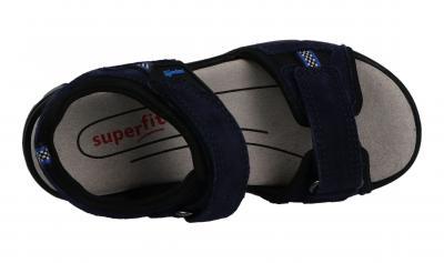 Superfit Kinder Sandale Scorpius BLAU/SCHWARZ (Blau) 6-06183-81