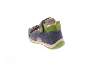 Superfit Kinder Sandale Freddy DENIM KOMBI (Blau) 0-00144-94